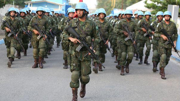 I caschi blu dell'Onu pronti a lasciare Haiti