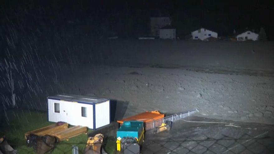 Häuser zerstört: Erneut Bergstürze in der Schweiz