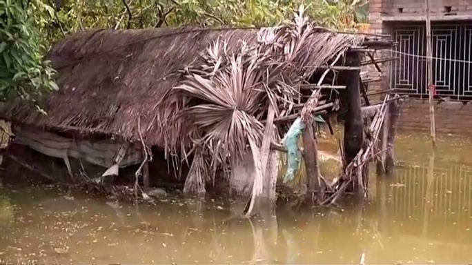 Inundações mortais no sul da Ásia