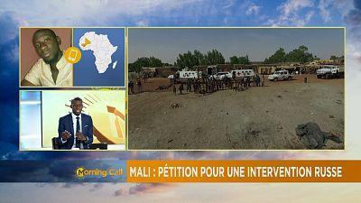 Mali : une pétition pour demander l'implication militaire de la Russie