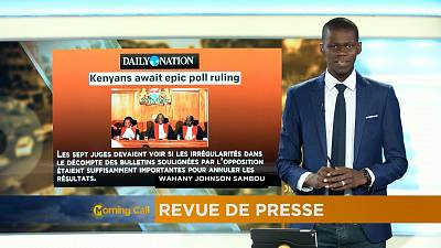 Revoir la revue de presse du 1er-09-2017 [The Morning Call]