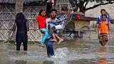 سیل مرگبار جنوب آسیا؛ گوگل یک میلیون دلار اهداء میکند