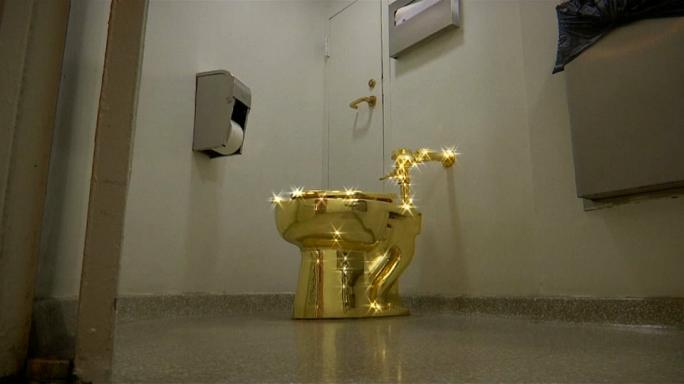 Have you ever wanted to sit on a golden throne ?