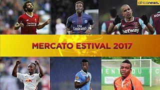 Football – Fin du mercato estival 2017 : le point sur le transfert des Africains en Europe