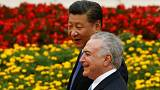 Michel Temer na China à procura de investidores