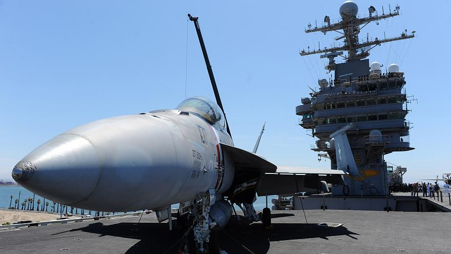 U.S. sending carrier strike group to send 'message' to Iran