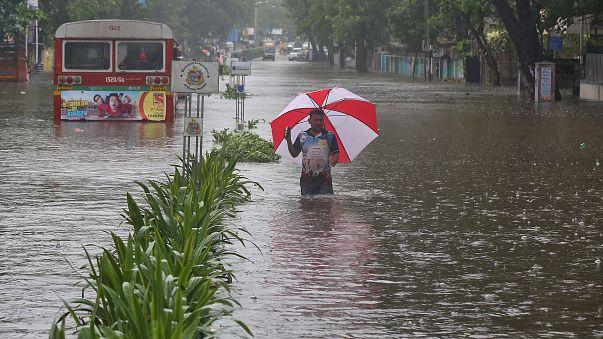 Lluvias monzónicas: más de 1.200 muertos en India, Bangladesh y Nepal