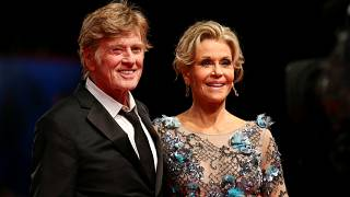 Jane Fonda y Robert Redford conquistan Venecia con su química