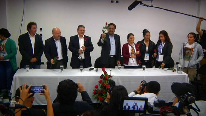 Colombia's disarmed FARC rebels form political party