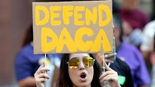 Trump under pressure to not to scrap the 'Dreamers' program