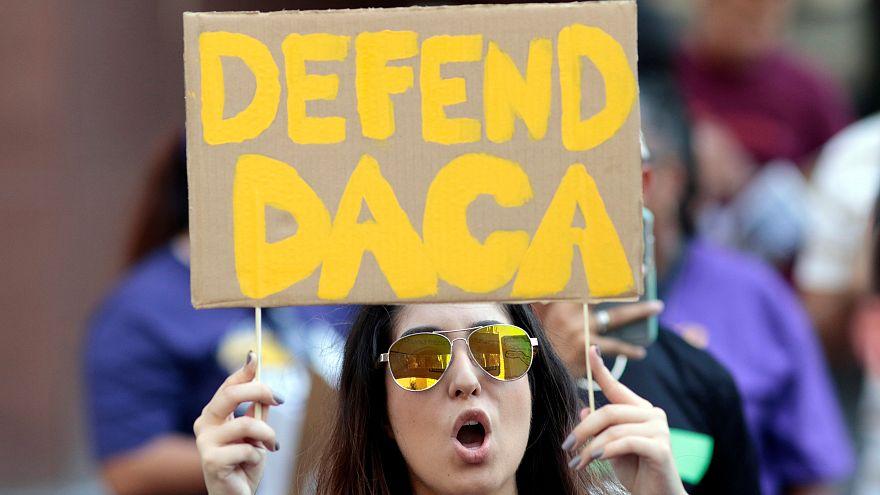 """EE.UU.: el destino de """"los dreamers"""" en el alero"""