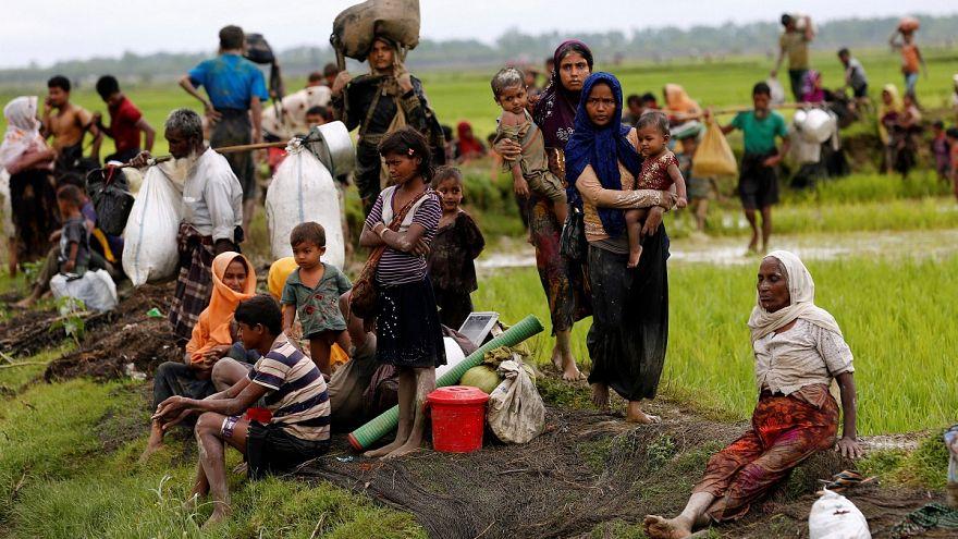 طی یک هفته خشونت، بیش از ۲۶۰۰ خانه در شمال غرب میانمار سوزانده شد
