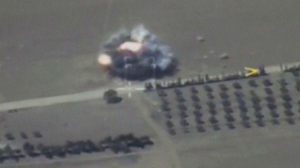 ادامه نبردها در مرکز سوریه