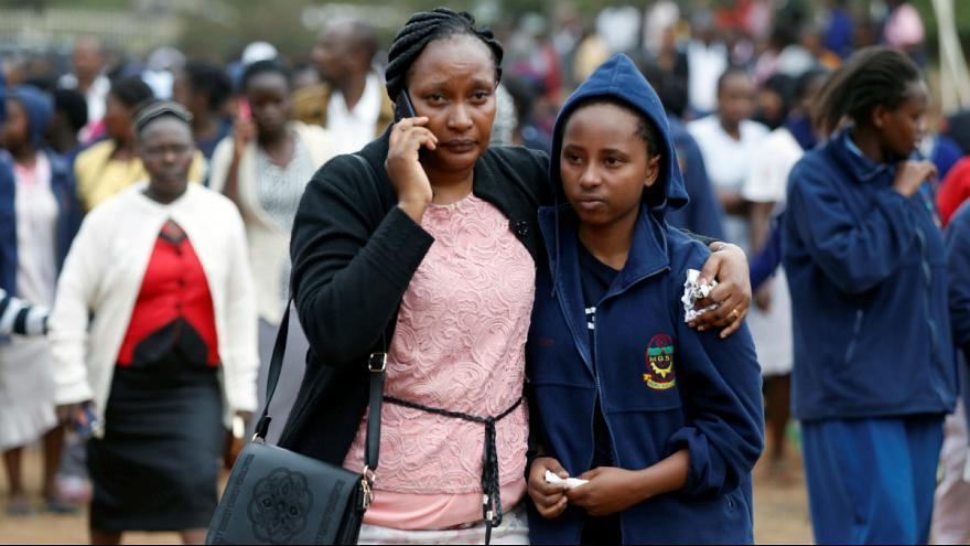 School dormitory fire kills seven in Kenya