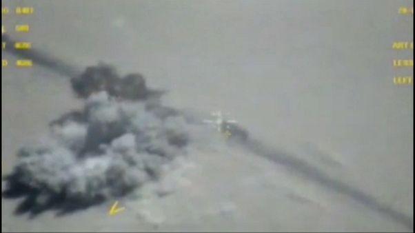 غارات روسية مكثفة على معاقل داعش في دير الزور