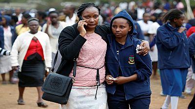 Seven Kenyan schoolgirls die in dormitory blaze - government