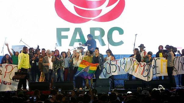 FARC formam partido político