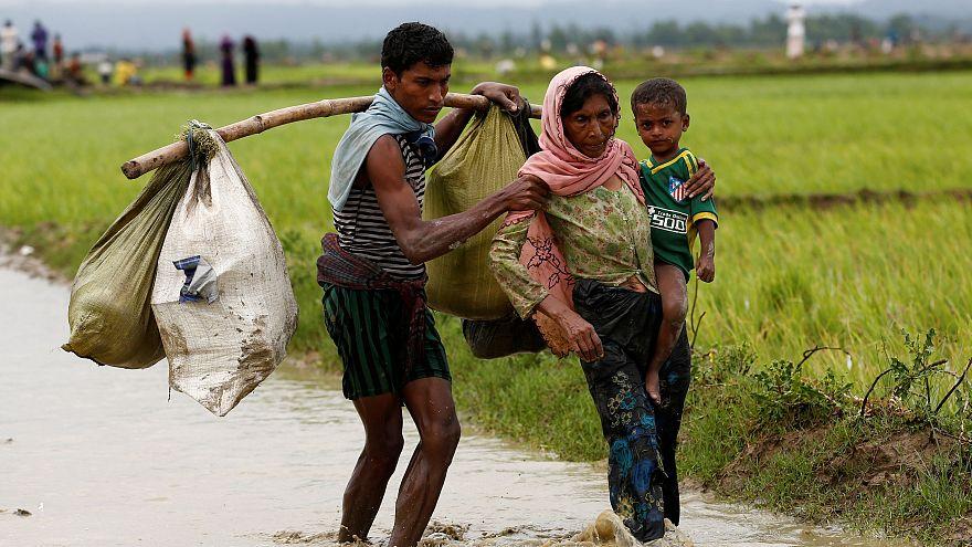 Gewaltwelle gegen Rohingya: Ganze Dörfer verbrannt