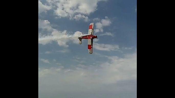 Accidente mortal durante una exhibición aérea