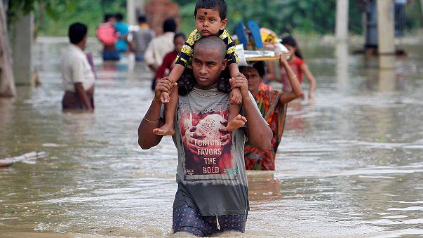 Asia del sud: le peggiori alluvioni da decenni