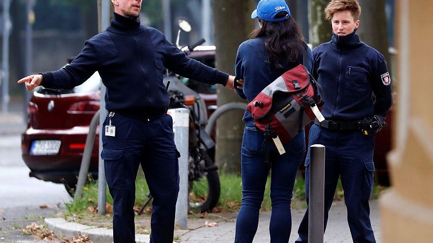 Happy End - nach einigem Ärger mit der Bombe in Frankfurt
