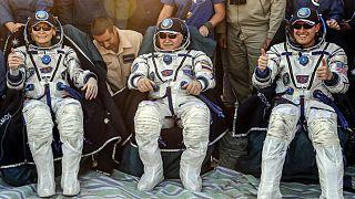 ABD'li astronot Peggy Witson 665 gün sonra Dünya'ya döndü