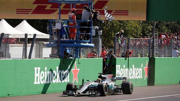 Hamilton gana en Monza y ya es líder del Mundial de Fórmula Uno