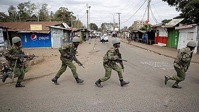 Gunmen kill two policemen at church on Kenya's coast/