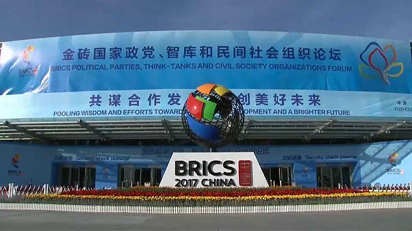 Саммит БРИКС открылся в Китае