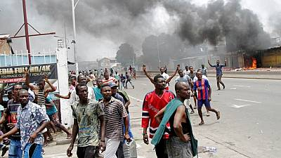 Police in Kinshasa fire tear gas to disperse opposition supporters