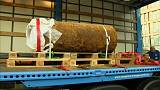 Bomba da 2ª Guerra Mundial desarmadilhada com sucesso