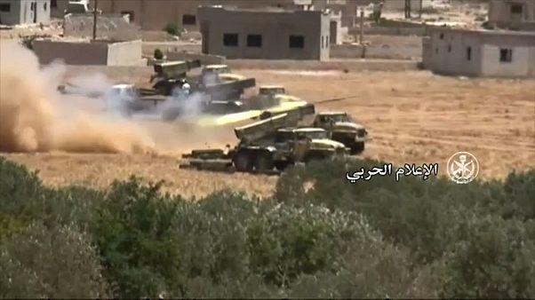 Forças sírias avançam em Deir Ezzor contra o Estado Islâmico