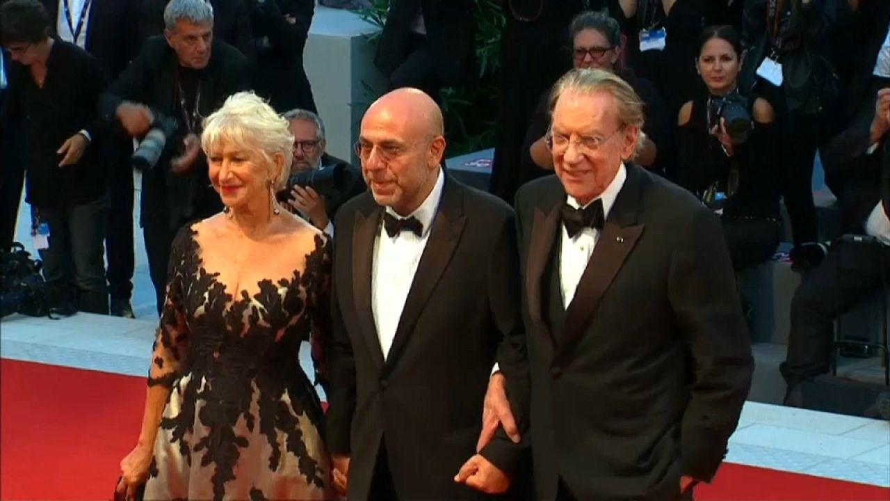 Helen Mirren és Judy Dench Velencében