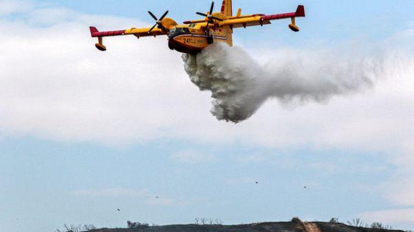 Λος Άντζελες: Τρία σπίτια παραδόθηκαν στις φλόγες