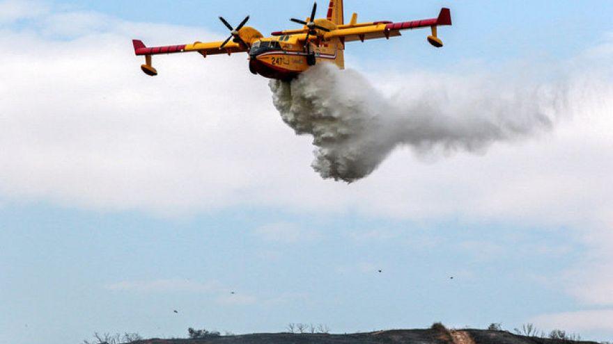 """Incendie """"historique"""" au nord de Los Angeles"""