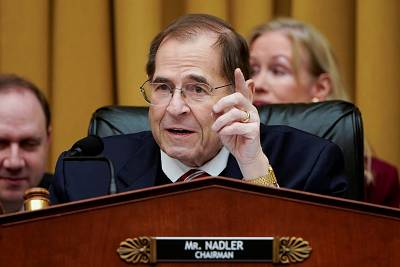 Chairman of the House Judiciary Committee Jerrold Nadler speaks during a hearing on March 26, 2019.