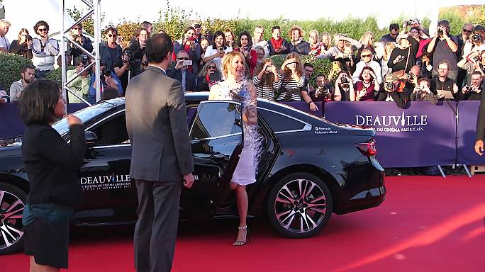 Festival de Cinema de Deauville: Estrelas americanas no passeio da fama francês
