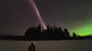 Alberta Aurora Chasers capture STEVE, the new-to-science upper atmospheric