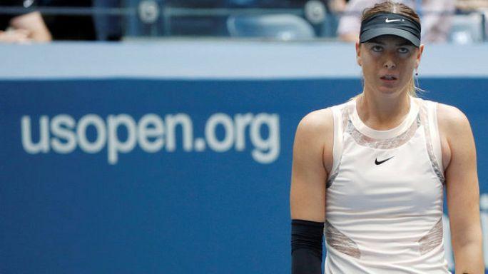 Maria Scharapowa (30): US-Open-Aus gegen Lettin Sewastowa
