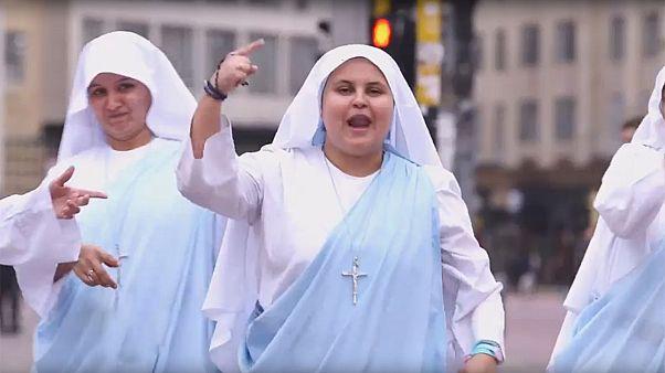 Maria Valentina, une soeur qui rappe pour le pape