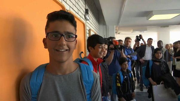 Serbien: 1. Schultag für Flüchtlingskinder