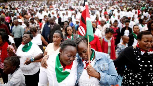 Kiírták az új elnökválasztást Kenyában