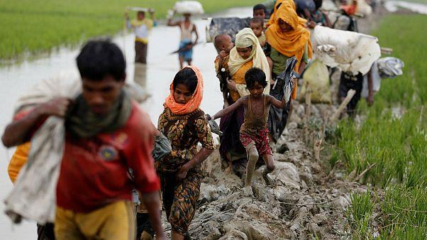 87.000 rohingyá de Myanmar han huido ya a Bangladés
