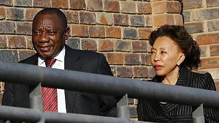 Wife of S. Africa deputy president backs him in extramarital exposé