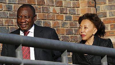 Wife of S. Africa deputy president backs him in extramarital exposé