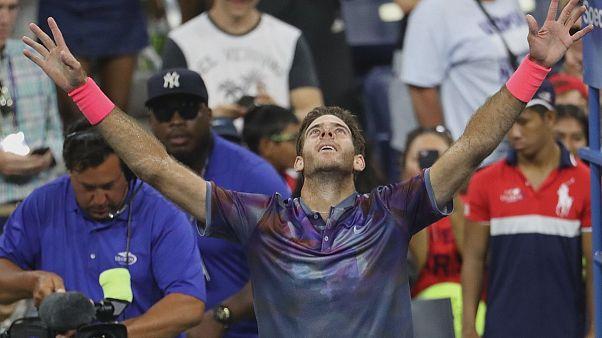 US Open : Del Potro rejoint Federer en quarts
