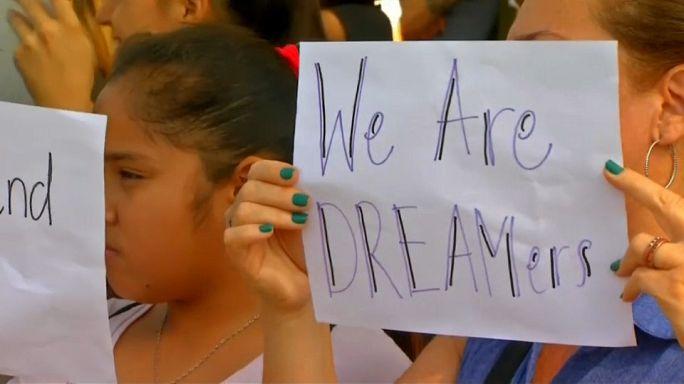USA: Proteste gegen geplante Abschaffung des Einwanderungsprogramms DACA