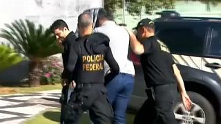 Polícia brasileira desmantela rede internacional de tráfico