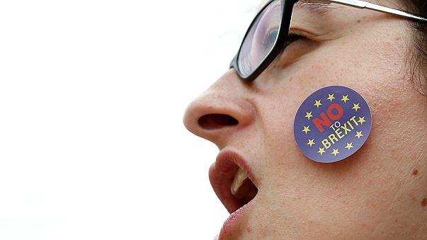 Zivilgesellschaft protestiert gegen Brexit