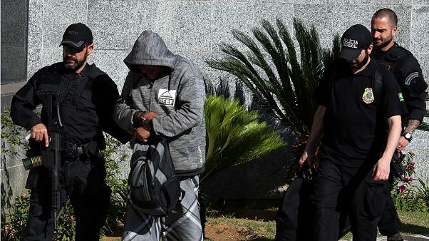 Nemzetközi drogcsempész hálózaton ütöttek rajta Brazíliában